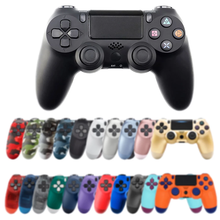 Destek Bluetooth kablosuz oyun kolu için PS4 denetleyici Fit mando için ps4 konsolu Playstation Dualshock 4 Gamepad PS3