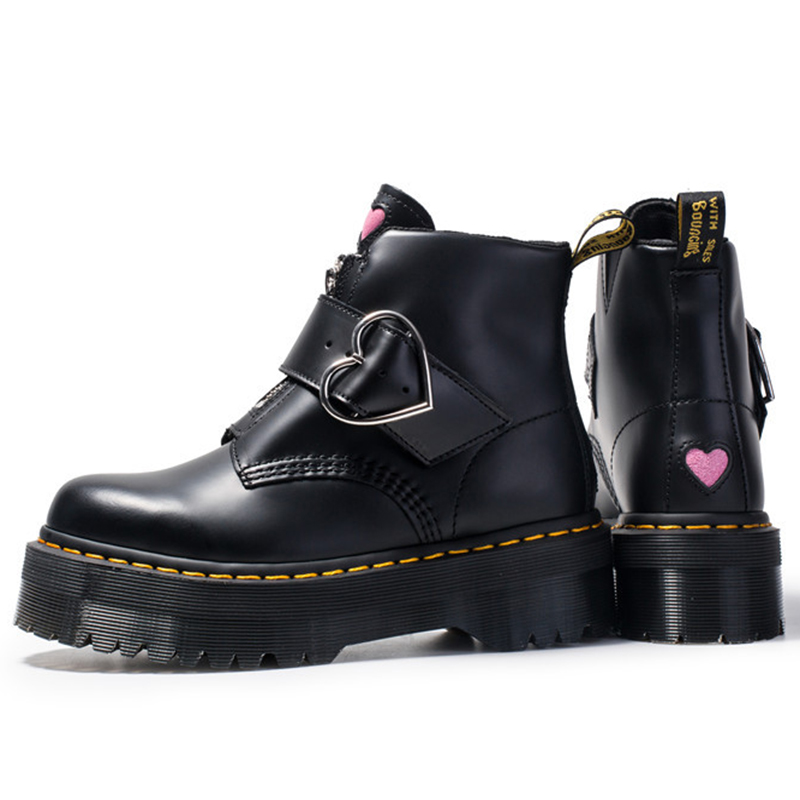 Women Moto Boots Student Girl Shoes