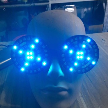 Rezz Led glasses