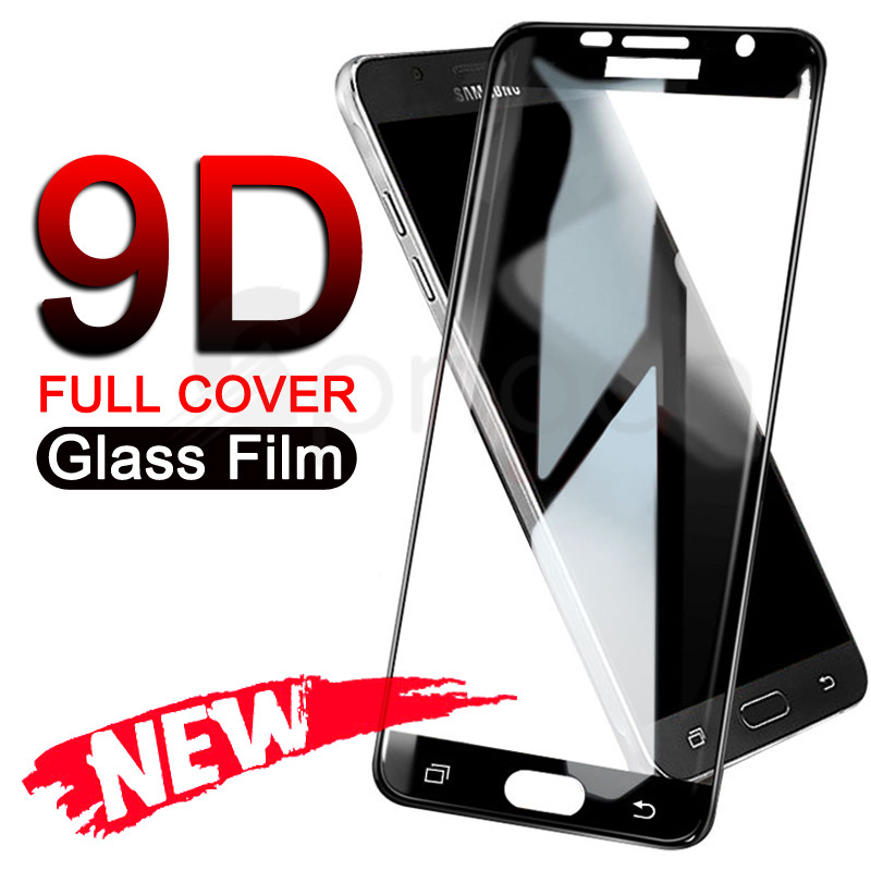 9D Tempered Glass On The For Samsung Galaxy S7 A3 A5 A7 2017 J3 J5 J7 2016 2017 Screen Protector Protective Glass Film Case