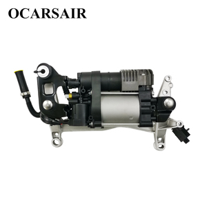Image 1 - For VW Touareg NF II 2010 with bracket&New Cayenne II 92A Air Suspension Compressor Oem#7P0698007A 7P0698007B 7P0616006E