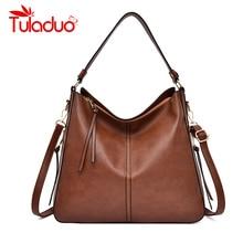 цены Women Handbags Luxury Shoulder Bags Hobos Designer Bags for Women Vintage High Quality Leather Casual Totes Women Messenger Bag
