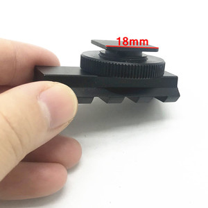 Image 5 - Aluminum DSLR Camera Flash Hot Shoe 20mm Rail Picatinny Mount Adapter for Red Dot View Finder & Optics Scope Sight
