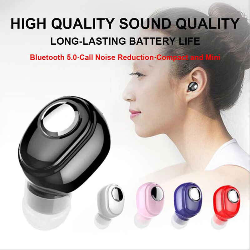 1PC L15 Wireless <font><b>Bluetooth</b></font> Earphone BT <font><b>5.0</b></font> Stereo Sport Headsfree Earphones Earpiece With Mic For Xiaomi Samsung All <font><b>Smartphone</b></font> image