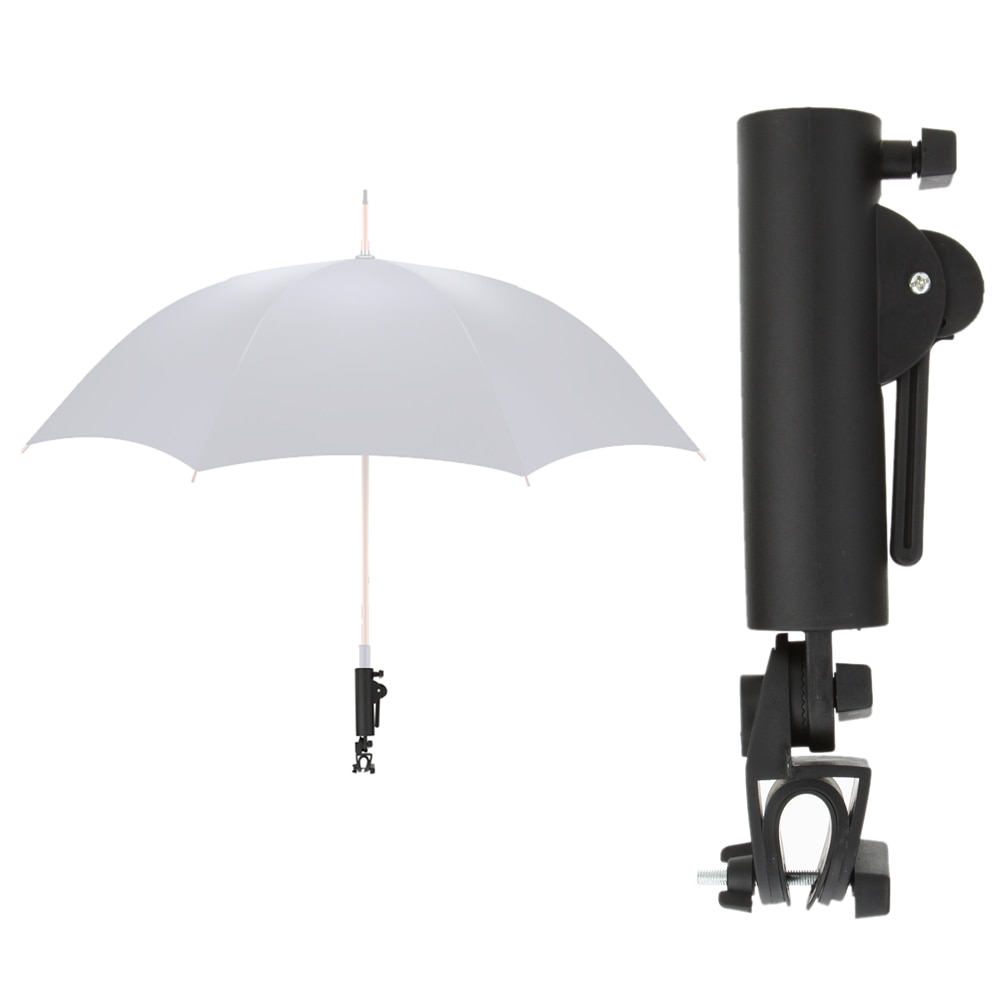 Black Golf Club Push Pull Cart Car Trolley Umbrella Holder Golfing Stand Support Dropshipping