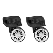 Brand New Durable 2x Dia PP Single Wheel Trolley Caster Pulley Suitcase