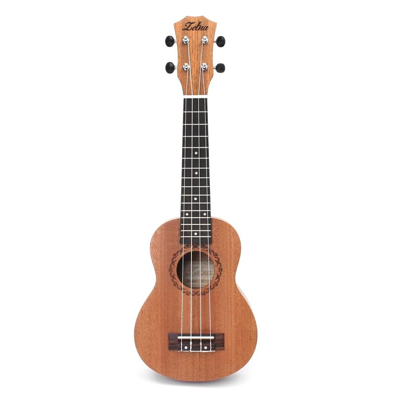 zebra-spring-21-inch-15-frets-mahogany-soprano-ukulele-guitar-sapele-rosewood-4-strings-hawaiian-guitar-musical-instruments