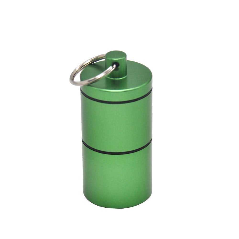 HORNET Stash Jar - Airtight Smell Proof Aluminum Herb 2 Layers Container Spice Case Tobacco Box
