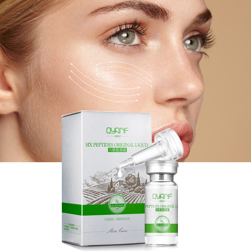 Argireline Hyaluronic Serum Six Peptides AntiAging Wrinkle Serum Whitening Cream Acne Treatment Scar Removal Essence Face Cream