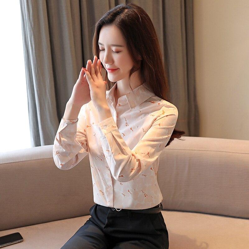 Women Shirts Blusas Mujer De Moda 2019 Korean Fashion Woman Print Blouses Shirt Plus Size Womens Tops and Blouses Women Shirts in Blouses amp Shirts from Women 39 s Clothing