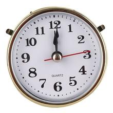 Gold Clock Mechanism Classic Movement-Insert Trim Diy-Parts Numeral Quartz Face Practical