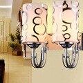 Новая современная светодиодная подсветка стены вниз куб Крытый открытый бра светильник ing светильник