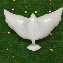1pcs Flying White Dove Balloons Wedding Globos Balao Peace Bird Ball Pigeons Foil