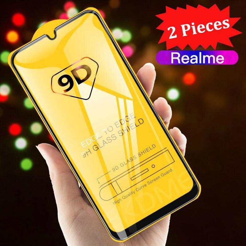 GFAITH For Realme 3 Screen Protector Glass Film 3D Full Tempered Glass Screen For Realme 6 Pro 2 Pro C3 Glass Realme 5 Pro X 6i 1