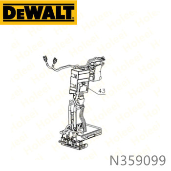 DeWALT Switch N359099 For N359100 DCD985 DCD985N DCD985M2 Power Tool Accessories Electric tools part