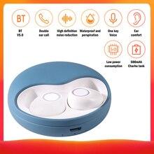 TWS-K10 Casques Bluetooth Sans Fil multi-fonction Bouton de Réduction Du Bruit IPX5 Casque Étanche Automatique Couplage Écouteur