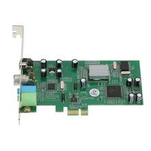PCI E بطاقة موالف التلفزيون الداخلية ، بطاقة التقاط الفيديو ، جهاز التحكم عن بعد ، PCI E ، PAL ، BG ، PAL ، I ، NTSC ، SECAM PC ، PCI E ، MPEG
