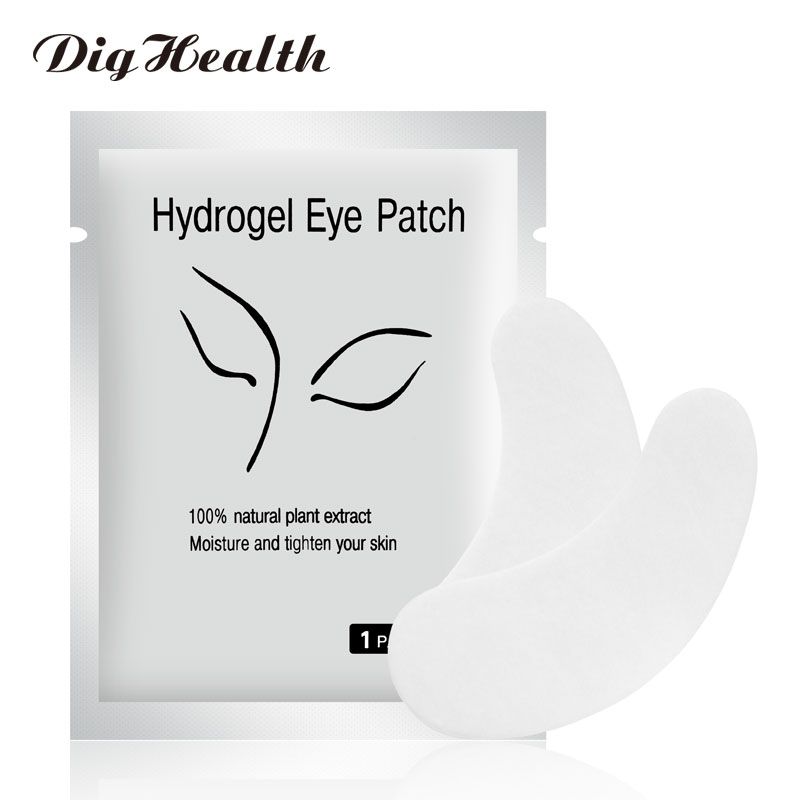 Dighealth Under Eye Pads For Eyelash Extension Under Eye Paper Patches Grafted Eye Tips Sticker Wraps Eyelash Extension Supplies