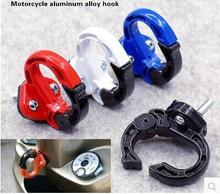 1pcs Universal Durable Aluminum Alloy Motorbike Motorcycle Hook Hanger Helmet Gadget Glove Eagle Claw