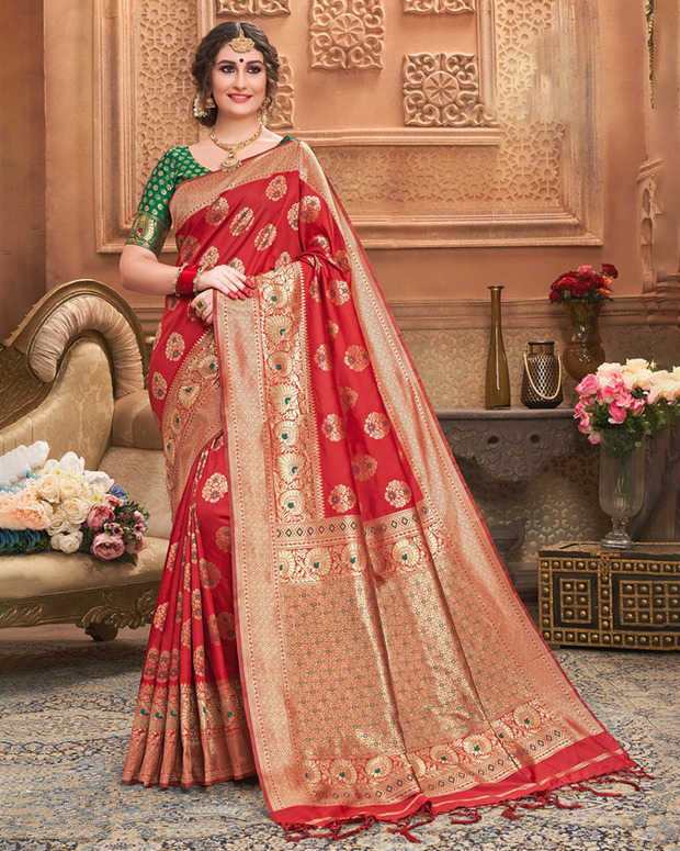 Saree Indian Pakistani Sari Wedding Traditional Style Wear Bridal Ethnic Women