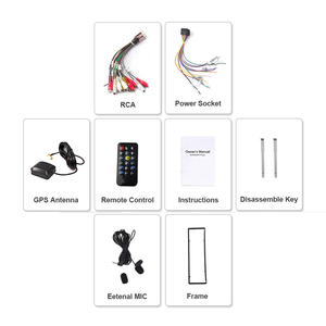 Image 5 - Eunavi Universal One 1 din Android 9 car multimedia player dvd radio audio auto gps navigation 1din headunit bluetooth wifi usb
