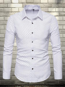 URSPORTTECH Shirt Men Camisas Business-Dress Long-Sleeve Elegant Large-Size Regular-Fit