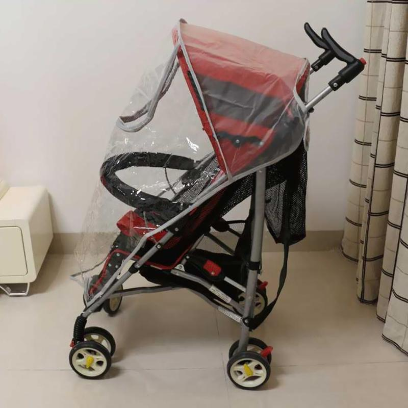 Rain Cover Waterproof Dust Shield Rain Canopy Raincoat Fashionable For Stroller Pushchairs Baby Outdoor Essential Supplies