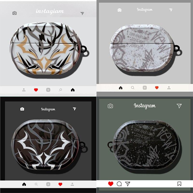 Модный силиконовый чехол для наушников с Bluetooth для Huawei Freebuds Pro, роскошный силиконовый защитный чехол IMD