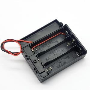 Image 4 - 3 AA 4.5V scatola portabatterie scatola batteria con interruttore nuovo 3 batterie AA 4.5V