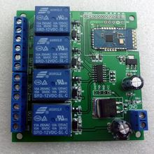 Ce028 12 В 4 канальное реле bluetooth android переключатель
