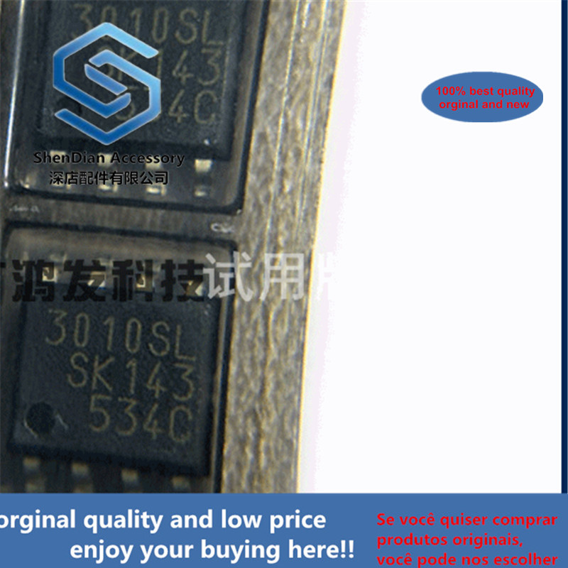 5pcs 100% Orginal New SI-3010LLSL-TL LDO Adjustable Voltage Regulator IC SMD SOP-8