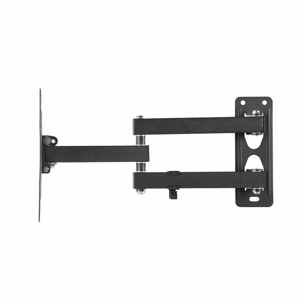 Telescopic Rotating Bracket Folding Monitor Bracket Durable Telescopic Rotary Tv Stand Folding Wall Mount Monitor Stand