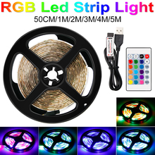 US/EU Plug 220V RGB USB LED Strip 5V 2835 SMD 1M 2M 3M 4M 5M Ambilight TV Led Light Home Party Lighting Holiday Lamp Neon