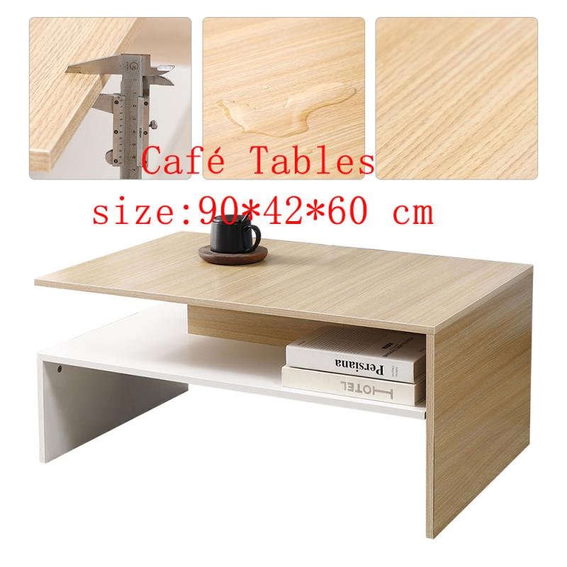 Coffee Table Conference Table Particle Board Main Body Coffee Table Melamine Board Coating Wooden Living Room Furniture HWC