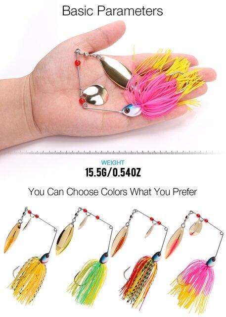 spinners spoon bait14