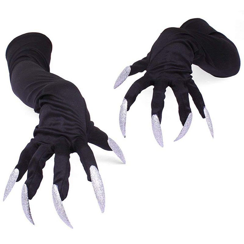 Halloween Costume Gloves With Nails Fingernails Gloves Claws
