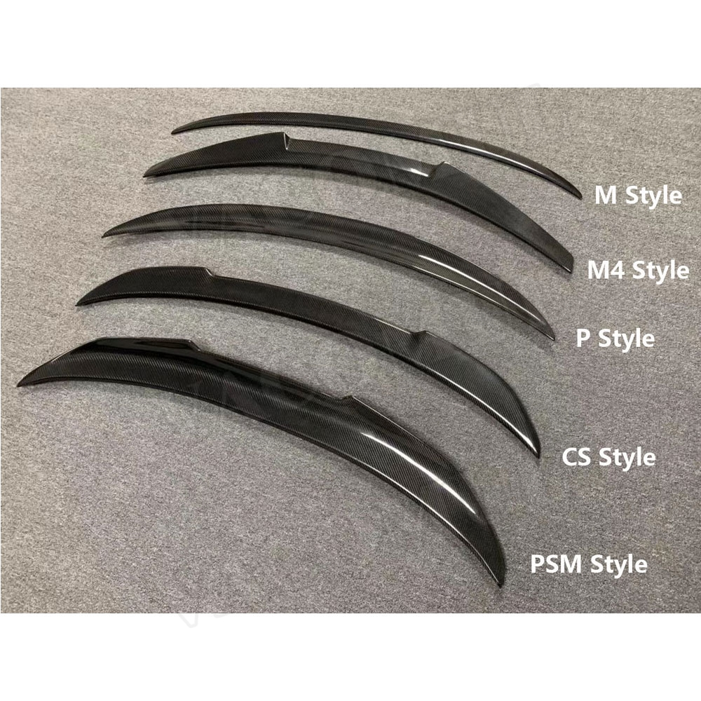 Carbon Fiber Rear Spoiler Boot Wings For BMW 3 Series G20 320i 330i Spoiler 2019 2020 Car Styling|Spoilers & Wings| |  - title=