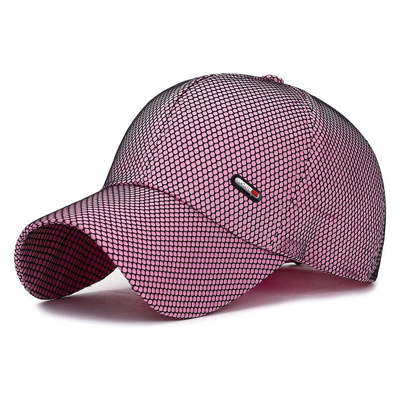 Network Breathable Unisex Baseball Cap Quick-Drying Hanging Net Plain Visor Hat Spring Summer New Outdoor Youth Baseball Caps