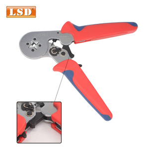 Image 2 - bootlace ferrule crimper 0.25 10mm2 Tubular crimping tool LSC8 6 4 free shipping cord end sleeve crimper crimping tool