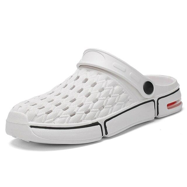 Фото 2020 мужская летняя повседневная обувь пляжная мужские сандалии цена