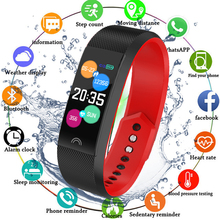 Fitness Bracelet Heart Rate Monitor Blood Pressure Measurement Smart Band Sports Watch Wristband for Android iOS pk mi band 4 hot hr bp smart fitness bracelet watch 50letters blood pressure heart rate monitor cardiaco for ios xiaomi honor pk mi band 3 s4