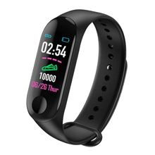 Students M3 Smart Watch Heart Rate Blood Pressure Fitness Tracker Smart Wristband Bracelet Band Sport Smartwatch For Android IOS sport smart wristband bluetooth watch blood pressure heart rate smart wristband sport fitness smart bracelet for ios android