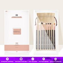 9Pcs Profession Eye Brushes Set Luxie style Multifunction Makeup Brushes Set Eye shadow concealer Free Cosmetic bag Brushes set