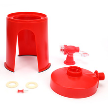Soda Coke Tap Saver Upside Down Drinking Water Dispenser Bar Water Bottles Creative Drinking Accessory Party Drink Machines
