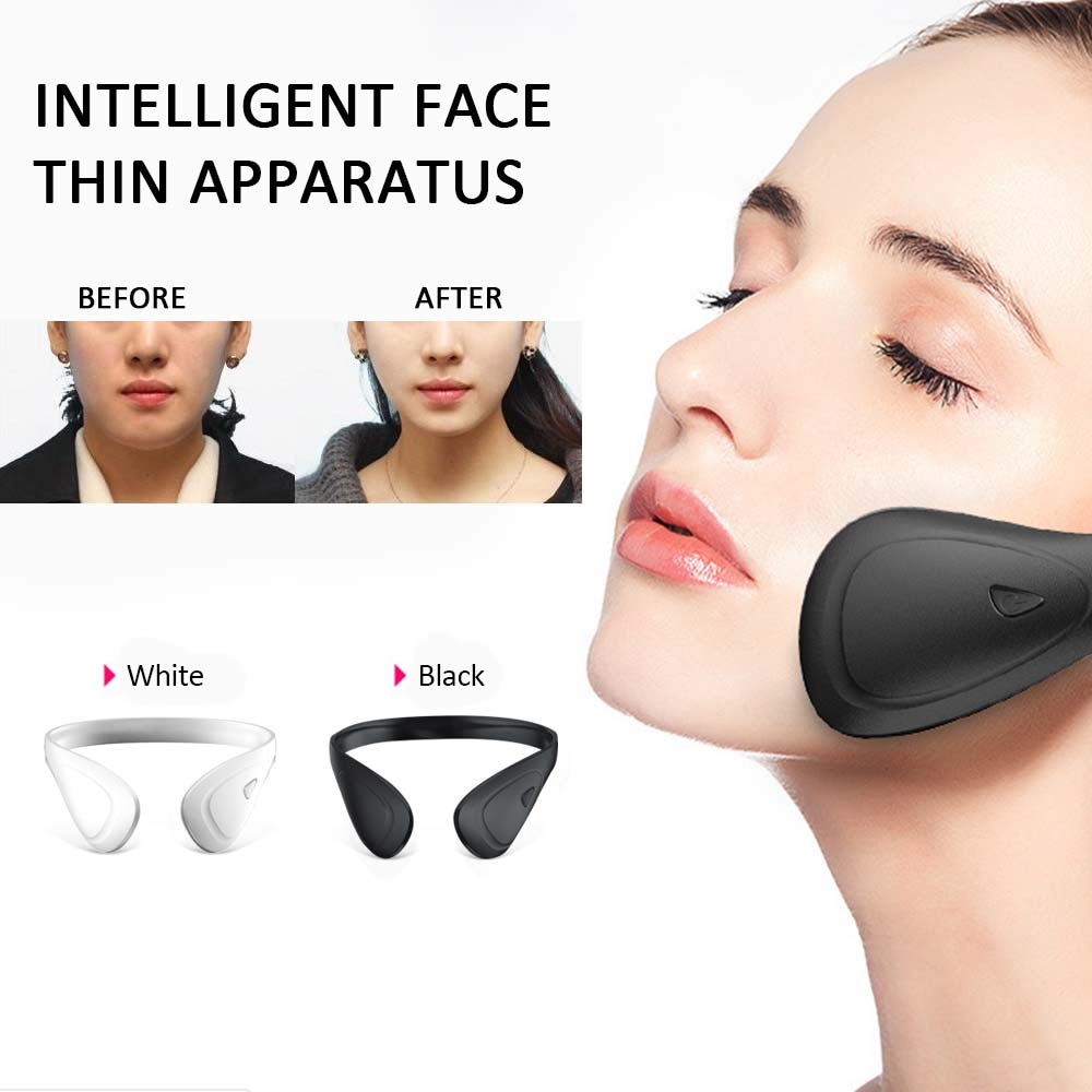 EMS Face Lifting Machine Muscle Facial Stimulator V-Face Slimming Exerciser Facetightening Massager Slimmer Skin Lift Tools