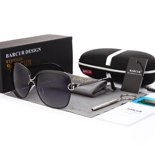 Polarized Sunglasses Women Gradient Lens  4
