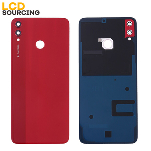 Image 2 - Battery Cover For Huawei Honor 8X Back Glass Battery Housing Cover Replace With Camera Lens For Honor 8x Back Cover Case