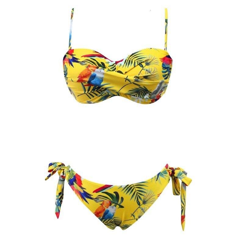Сексуальный большой купальник пуш-ап бикини женский купальник размера плюс пляжный женский купальник бикини купальный костюм бразильский ... 17