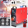 Hcalory автомобильный обогреватель все в одном 8 кВт Воздушный дизельный Обогреватель красный 8 кВт 12 в автомобильный обогреватель с одним отве...