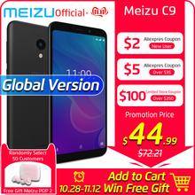 Meizu C9 2GB 16GB Global-Version GSM/LTE/WCDMA Quad Core 13MP New Mobile-Phone Camera